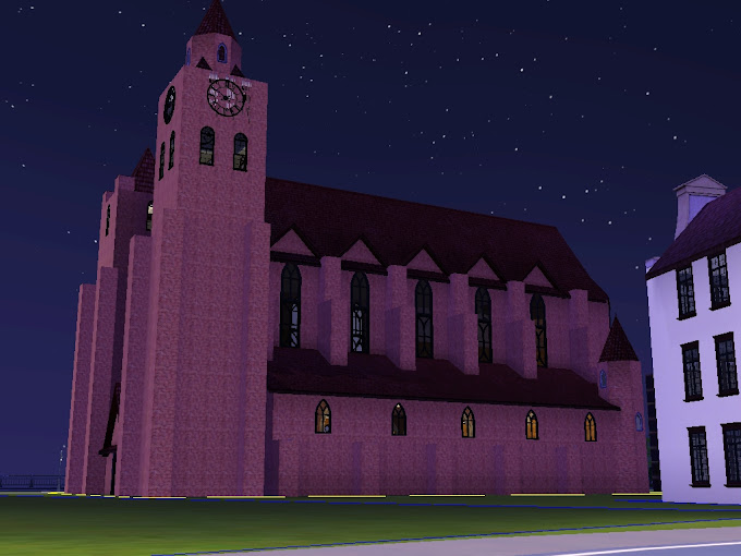 gotiska kyrkan sims3