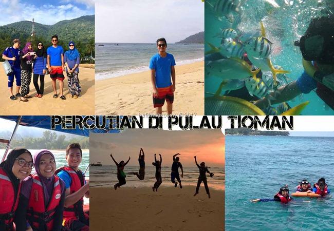 Pengalaman Bercuti 3H2M di Pulau Tioman dengan Pakej Murah