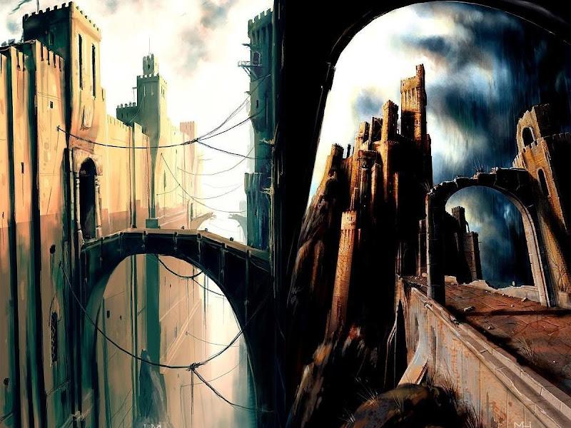 Weird Lands From Dream 12, Magical Landscapes 4