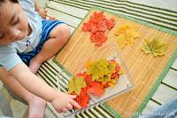Letter L: Leaf Activities in Autumn