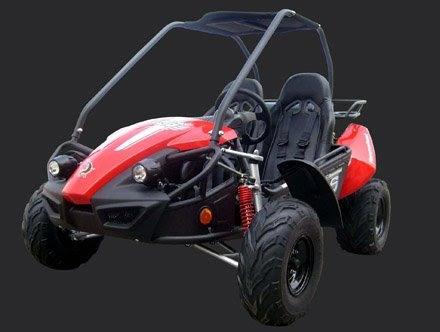 150cc GTS Twister Hammerhead Dune Buggy GoCart Red