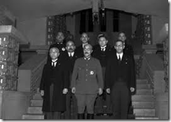 JAPAN PRIME MINISTER TOGO AND HIS CABINET