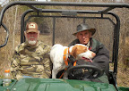 Dr. Aubrey Morgan on the right with his favorite dog Winston  The host of the VA. Amateur