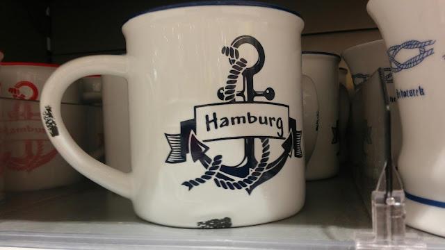 Souvenier Hamburg Becher