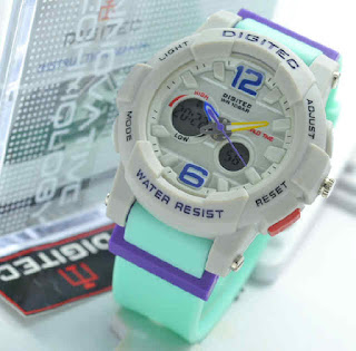 jam tangan Digitec ladies toska rubber