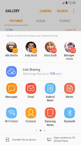 Link Sharing Android App Screenshot