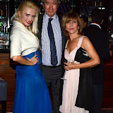 WWW.ENTSIMAGES.COM -    Lana Holloway, Douglas Seymour- Chalk and Charlotte Ellis PR at    Lana Holloway - birthday party at Avista Bar, The Millennium Hotel Mayfair, London December 16th 2013                                                   Photo Mobis Photos/OIC 0203 174 1069