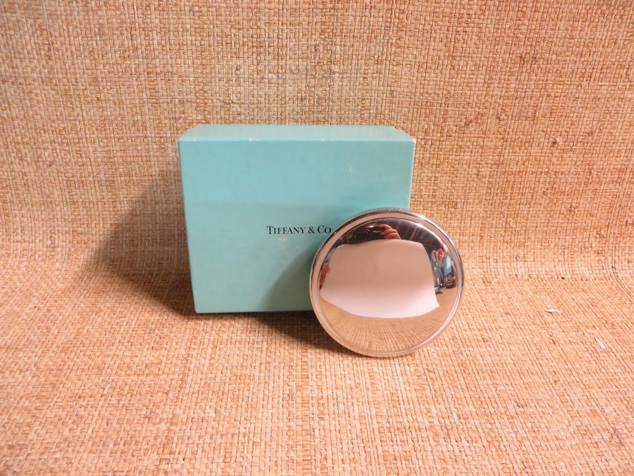 Tiffany & Co. Pewter Trinket Box