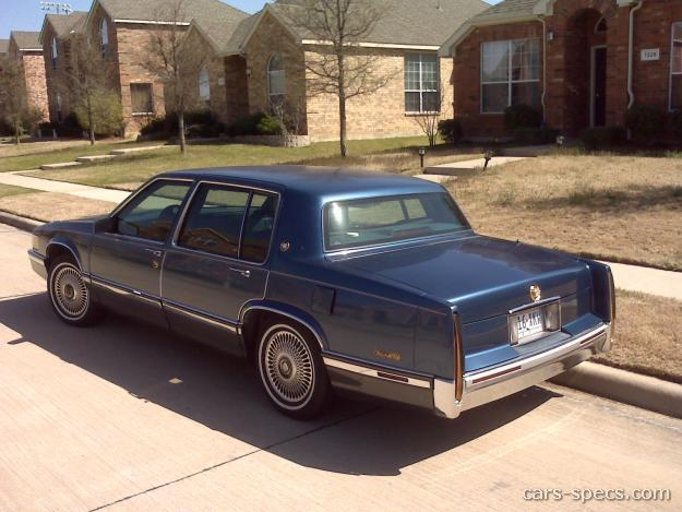1990 cadillac deville sedan specifications pictures prices. Black Bedroom Furniture Sets. Home Design Ideas