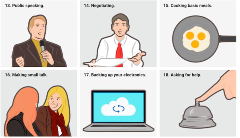 30 habilidades que todo diseñador debería aprender como freelancer y como persona