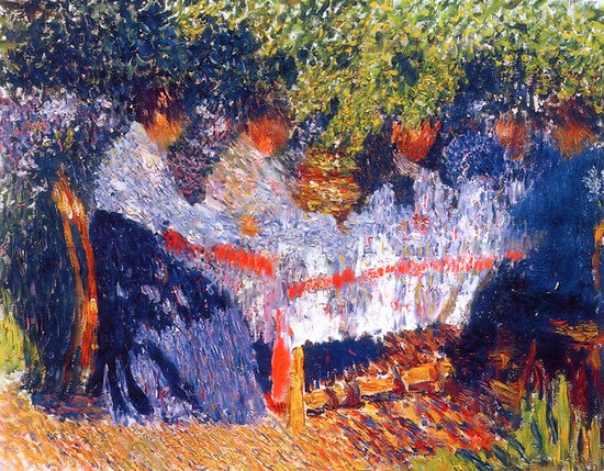 Igor Grabar - Afternoon Tea, 1904