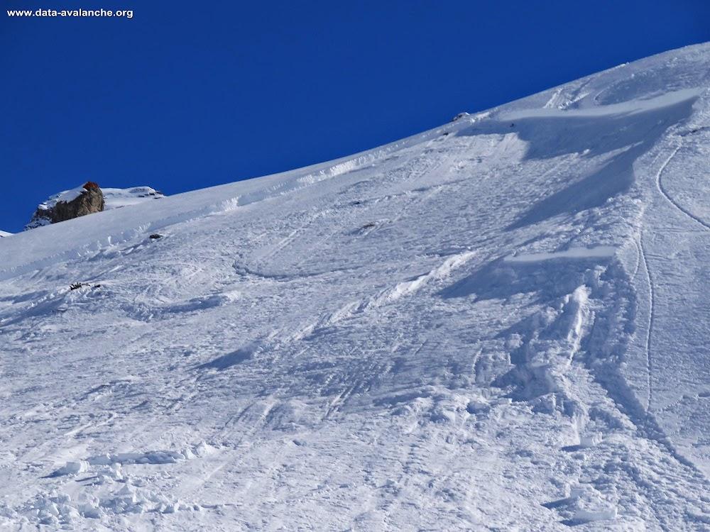 Avalanche Queyras, secteur Col de Chaude Maison - Photo 1 - © Castille Vincent
