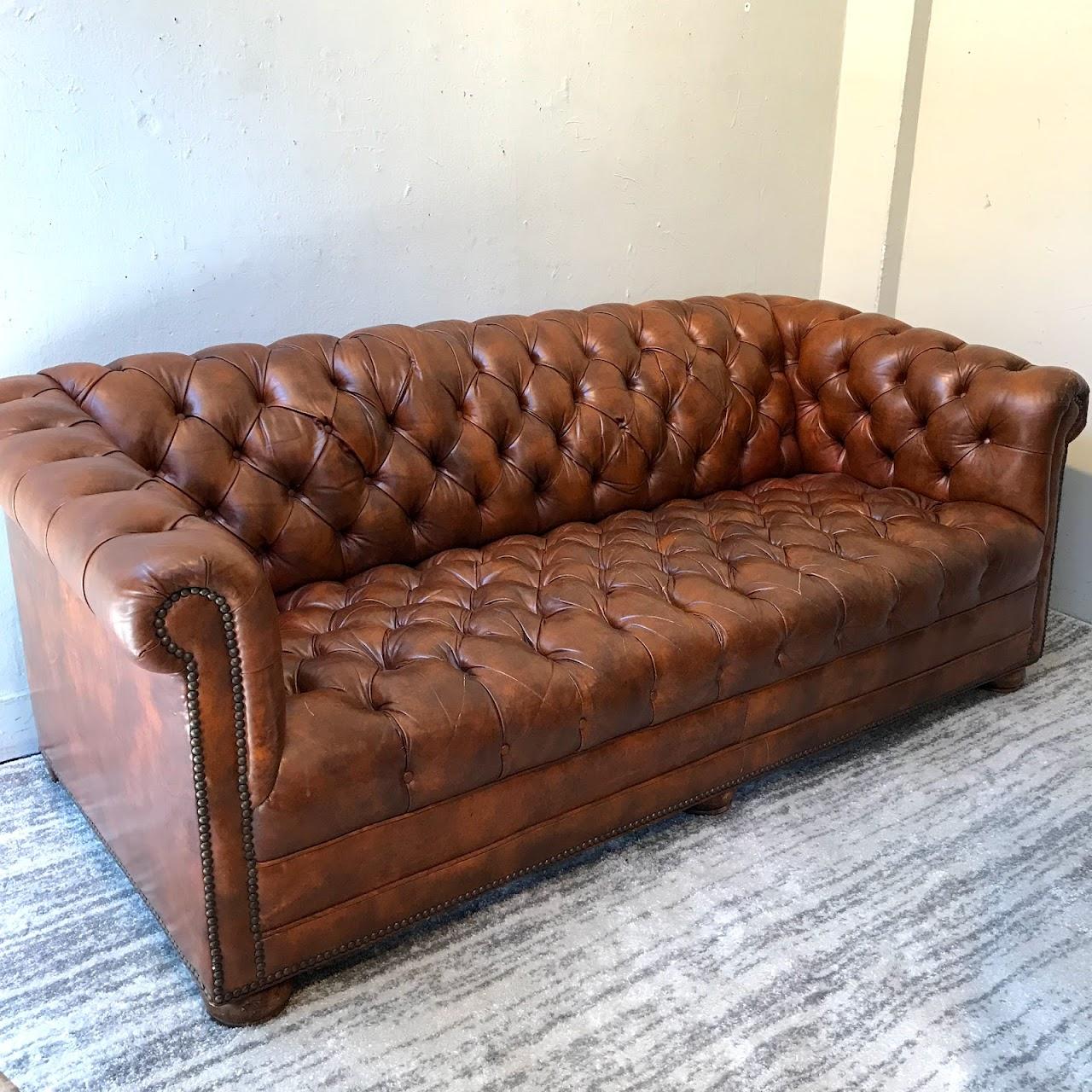 Leather Chesterfield Sofa Shophousingworks