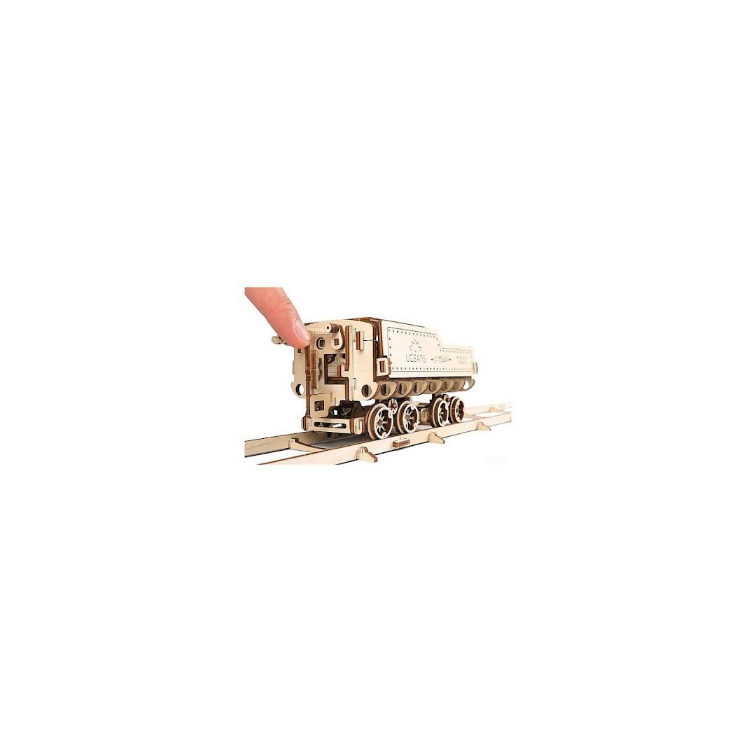 Купить Сборная модель Локомотив с тендером V Экспресс UGEARS 10881114