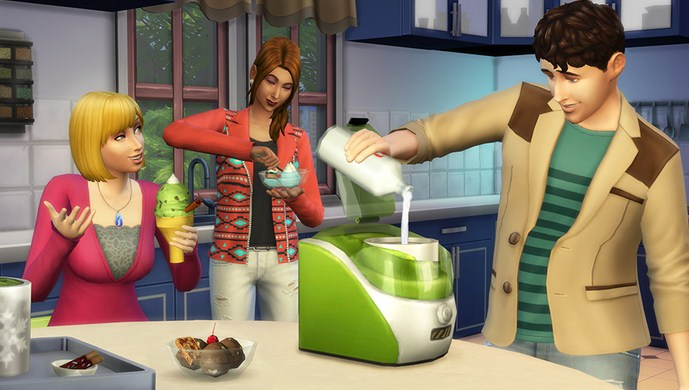 The Sims 4 Cool Kitchen Free Download PC Game Full Version