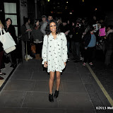 WWW.ENTSIMAGES.COM -  Aluna Francis  arriving at The BRIT Awards 2013 - shortlist  nominations announcement at The Savoy Hotel, Strand, London January 10th 2013 Photo Mobis Photos/OIC 0203 174 1069