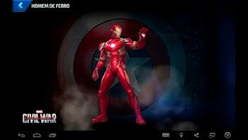 Homem de Ferro - Capitão América: Guerra Civil