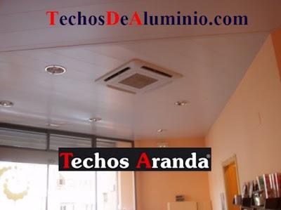 Representaciones Techos Aluminio Baños Madrid