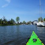 129-We varen naar de sluizen op de Diepe Dolte. Daar achter ligt het Ijsselmeer.