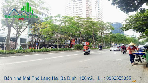 Bán nhà mặt phố Láng Hạ, Ba Đình