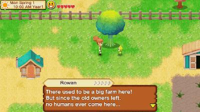 Jadi kali ini saya berkesempatan untuk bernostalgia lagi dengan Review Harvest Moon Seeds of Memories