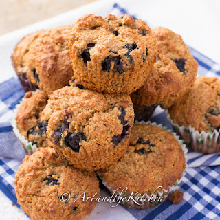Molasses Muffins Blueberries Recipes