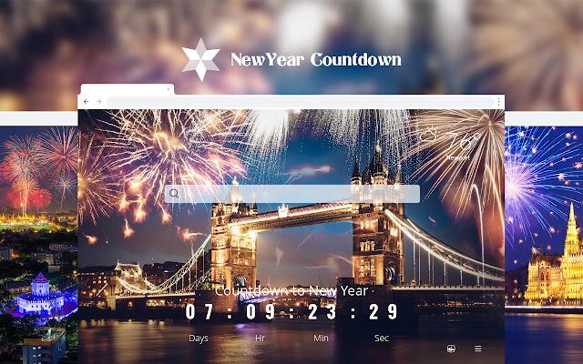 New Year Countdown 2021 Celebration
