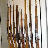 more rifles at the kaiserjagermuseum in Innsbruck, Tirol, Austria