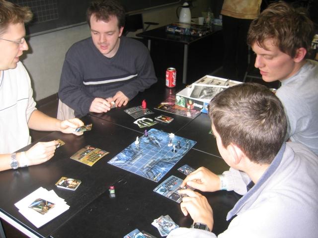 Star Wars - Epic Duels på Viking Con 2003.