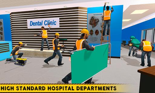 City Hospital Building Construction Building Games 1.1 Mod screenshots 3