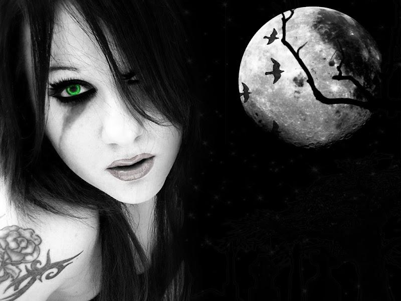 Young Sorceress Of Life, Moon Magic
