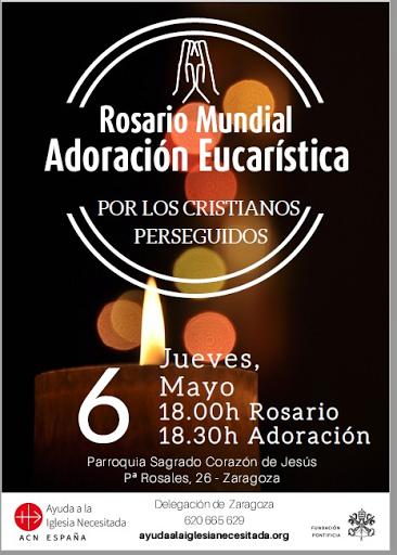 6-V-21 Rosario mundial y adoración eucarística