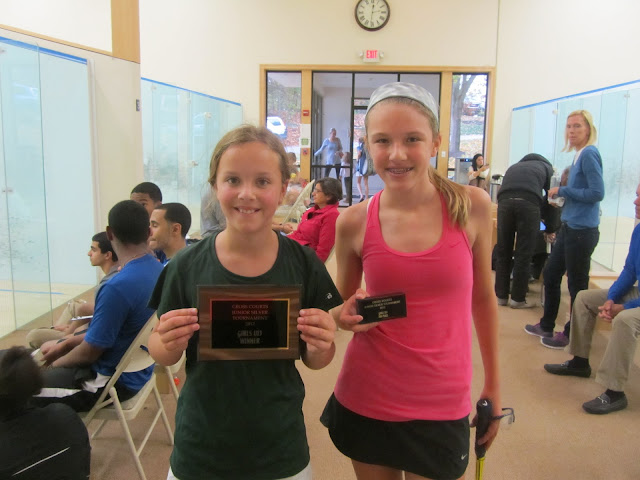 GU13 draw: Jesse Brownell (Winner), Ainsley Weber (3rd place)