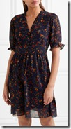 Madewell Ruffle Printed Chiffon Dress
