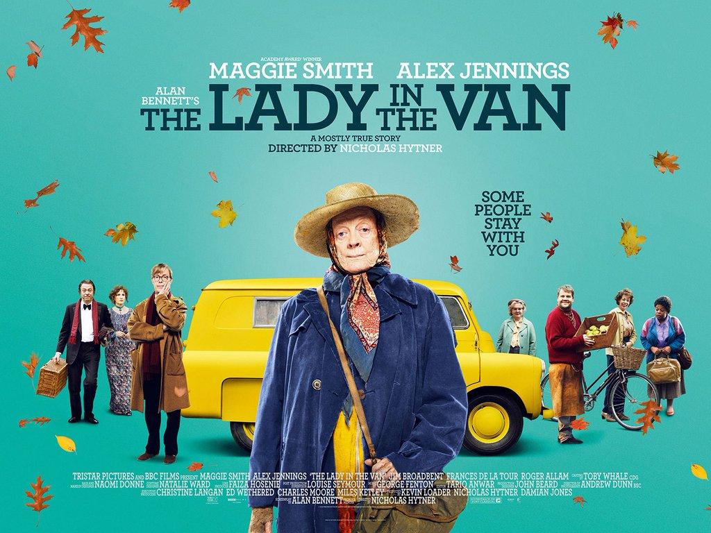 Η κυρία και το φορτηγάκι (The Lady in the Van) Wallpaper