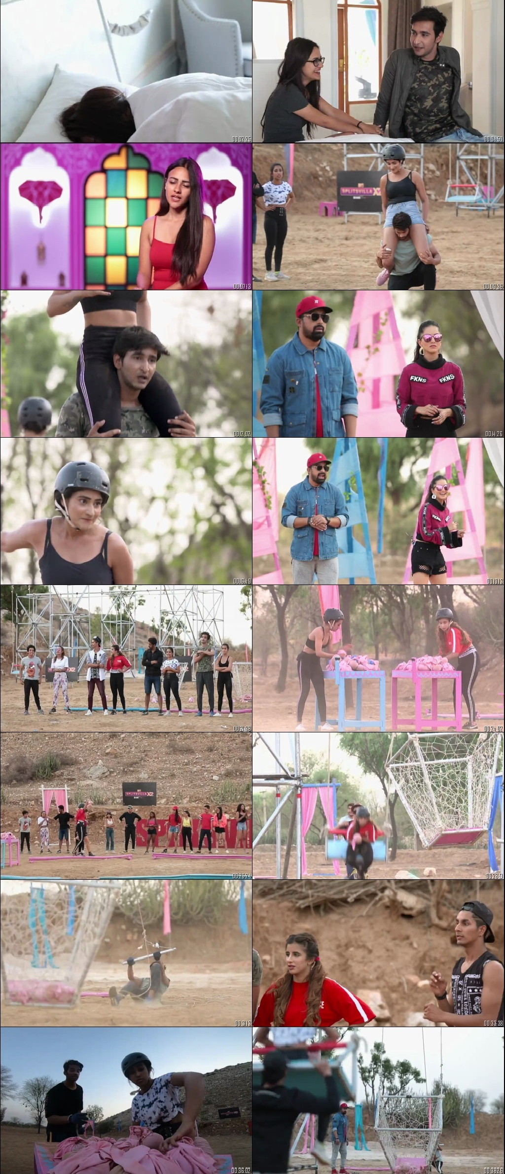Screenshots Of Hindi Show Splitsvilla 12 10th January 2019 Episode 21 300MB 720P HD