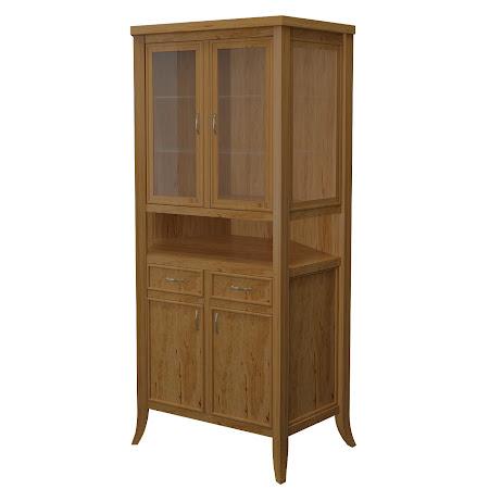 Strafford Corner Cabinet in Classical Maple