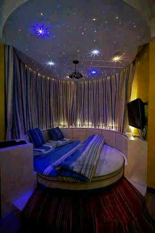 Stylish Girls Awesome Galaxy Bedroom Ideas
