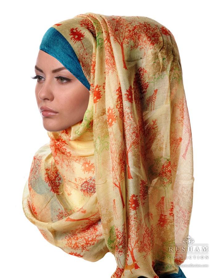 64-Green-Tree-Print-Hijab-Scarf-Side-700x900
