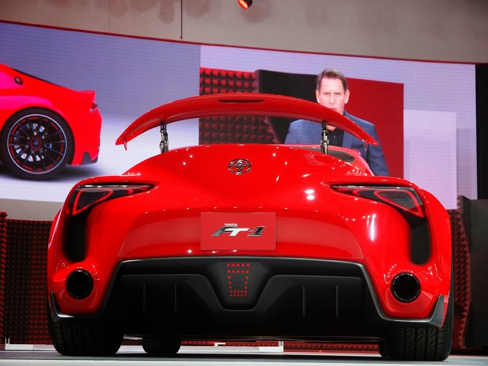 Toyota FT-1 Concept Unveiling 6