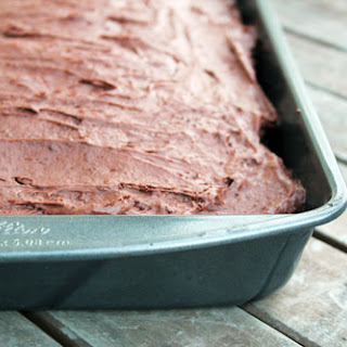 Quick and Easy Pudding Frosting.