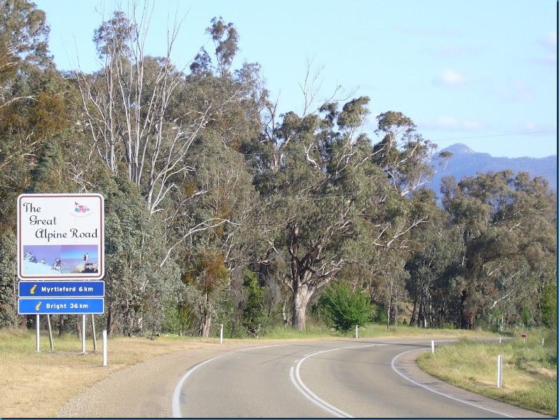 Australia's best motorcycle roads. Great Alpine Road