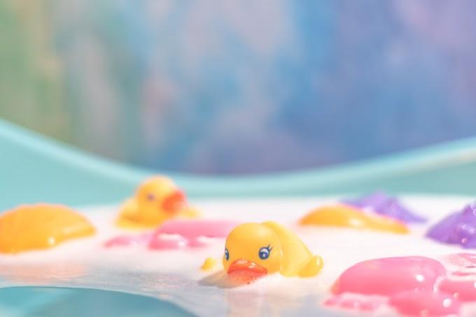 Banho de criança