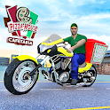 Fast Moto Pizza Delivery Game-Pizza Games for Free icon