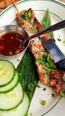 PaaDee Thai comfort food พาดี, Muu ping, a pork skewer