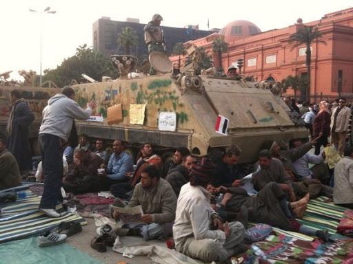 Egyptian Revolution شريف الحكيم Campbytanks