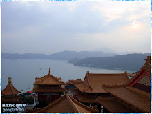 從文武廟拍攝日月潭風景