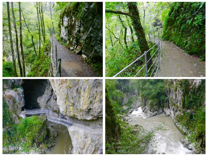 The amazing Skocjan and Postojna Caves and the Predjama Castle, in Slovenia; Art By Tali Landsman