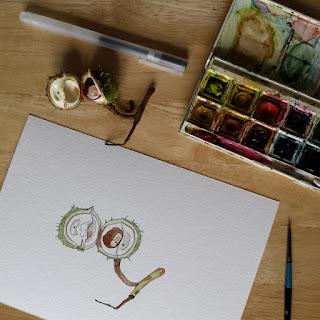 www.AliceDrawsTheLine.co.uk :: Conker