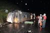 Bahia: Ônibus capota em rodovia e deixa ao menos um morto e mais de 20 feridos